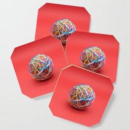 ball made with elastics Coaster