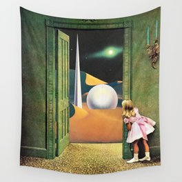 Prophetic Vision Wall Tapestry