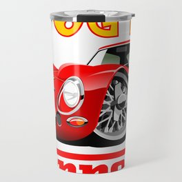 Ferrari GTO250 caricature Travel Mug