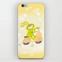 moto iPhone & iPod Skins featuring Zayaz & Moto by Olya Yang