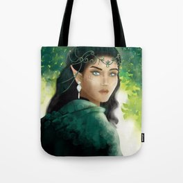 Forest Elf Girl Tote Bag