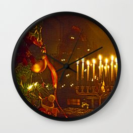 Celebrate Everything Wall Clock