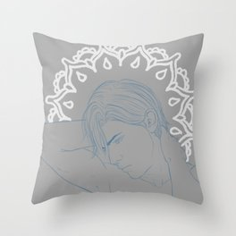 Strict Claude Throw Pillow