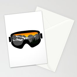 Sunset Goggles 2 | Goggle Designs | DopeyArt Stationery Cards