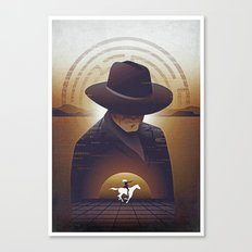 Westworld Poster Print Canvas Print