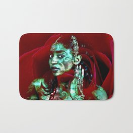 ORIENTAL ROSE QUEEN Bath Mat
