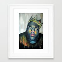 notorious Framed Art Prints featuring NOTORIOUS by marikowhitley