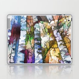 Aspen Trees Laptop & iPad Skin