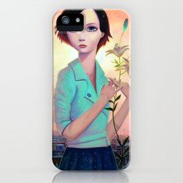 A Simple Divide iPhone Case