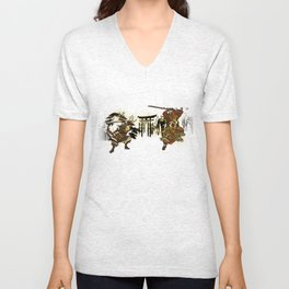 Hyrule Samurai Showdown Unisex V-Neck