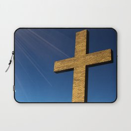 Heaven's Cross Laptop Sleeve