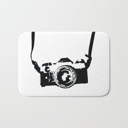 Camera and Strap Bath Mat