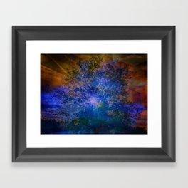 A Different Kind of Sunset Framed Art Print