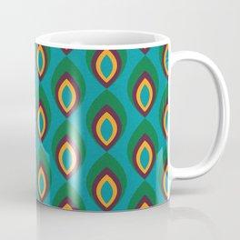 Peacock feather Teal #homedecor #midcenturydecor Coffee Mug