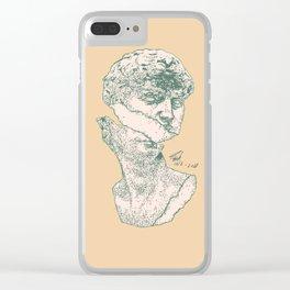 GreekStatue Clear iPhone Case