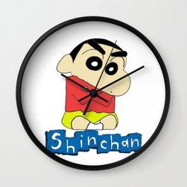 shin chan 1 Wall Clock