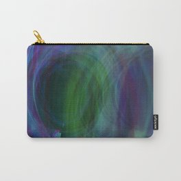 Circular Motion LightPainting Carry-All Pouch
