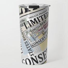 Limited Government Travel Mug