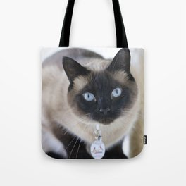 Innocent Expression Tote Bag