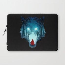 Big Bad Wolf (dark version) Laptop Sleeve