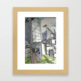 Rundown Framed Art Print
