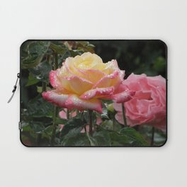Rose in the Rain Laptop Sleeve