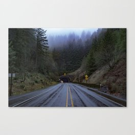 Tunnels to Cannon Beach Canvas Print