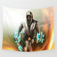 hero Wall Tapestries featuring Hero by ED Art Studio