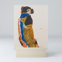 Egon Schiele, Moa, 1911 Mini Art Print