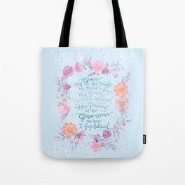 Amazing Grace - Hymn Tote Bag