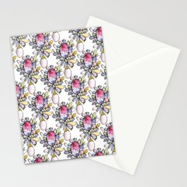 Brooch Repeat Stationery Cards