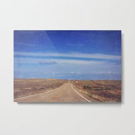 The Long Road Home Metal Print