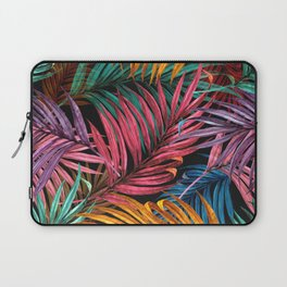 Colorful Palm Leaves Laptop Sleeve