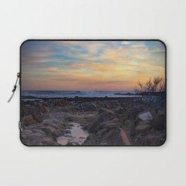 Winter Sunset at Bassrocks Laptop Sleeve