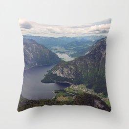 Dachstein Valley Throw Pillow