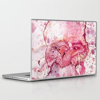 psychology Laptop & iPad Skins featuring Mr Bunny by hoploid