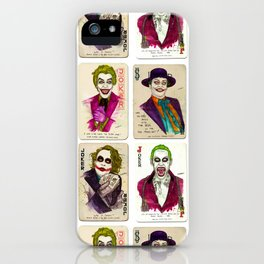 THE JOKERS iPhone Case