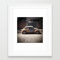 arnold Framed Art Prints featuring Arnold by PicBuggy