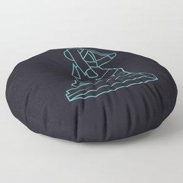 The Gurkhas Floor Pillow