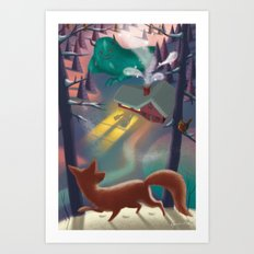 Magic Night Art Print