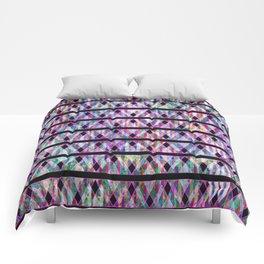 Geometric Glossy Pattern G330 Comforters
