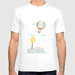 baloon collage T-shirt
