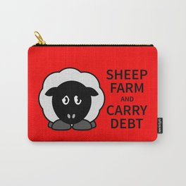 Sheep Keep Calm Carry-All Pouch