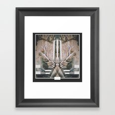 Elk Spirit Framed Art Print