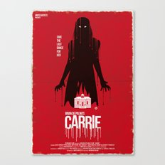 Carrie (Red Collection) Canvas Print