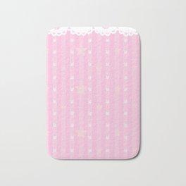 Kawaii Pink Bath Mat
