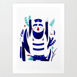 Captain Nemo Art Print