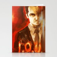 moriarty Stationery Cards featuring Jim Moriarty by AkiMao