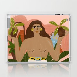 Crazy Plant Lady II Laptop & iPad Skin