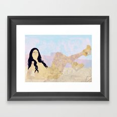 street Framed Art Print
